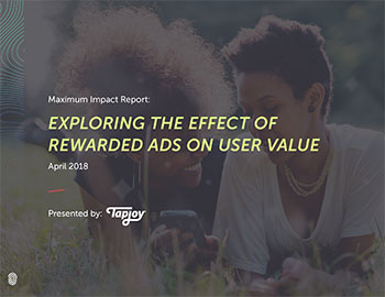 Tapjoy Study: Exploring the Effect of Rewarded Ads on User